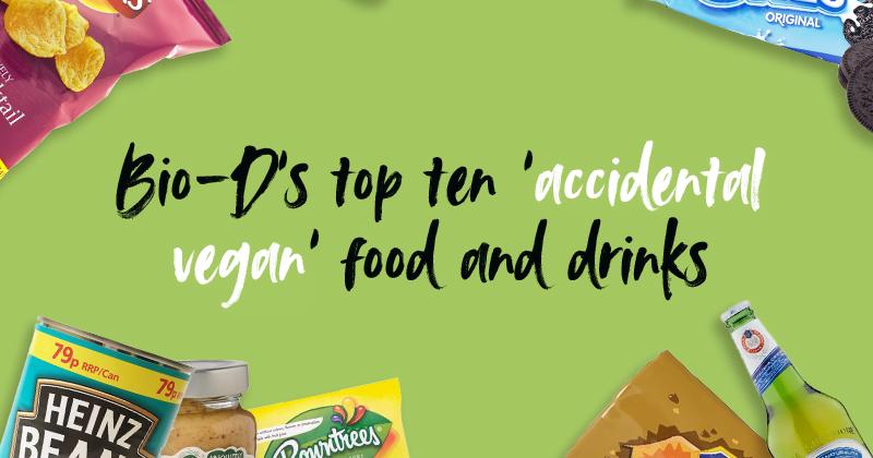 10 'accidental vegan' food and drinks