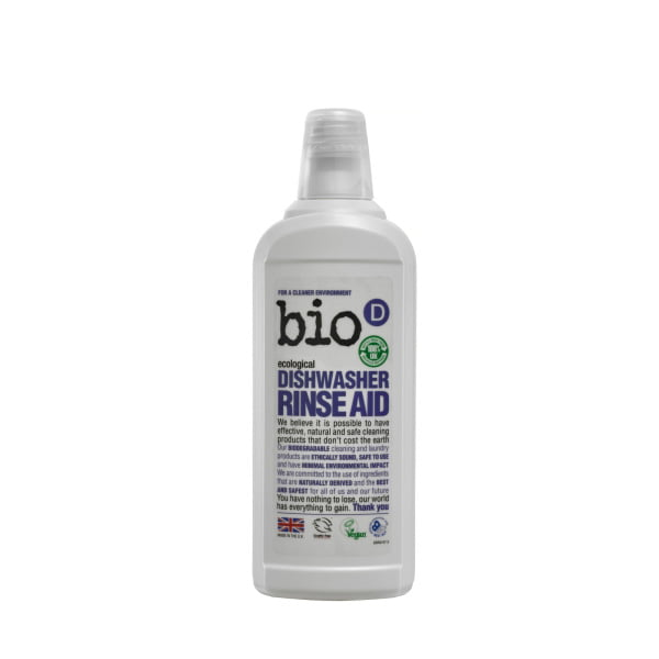 Bio-D Dishwasher Rinse Aid – 750ml