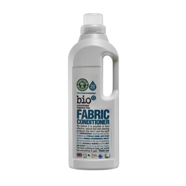 Bio-D Fabric Conditioner (fragrance free) – 1L