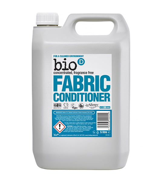 Bio-D Fabric Conditioner (fragrance free) – 5L