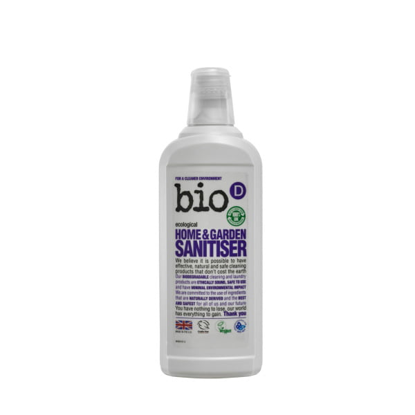 Bio-D Home & Garden Sanitiser – 750ml