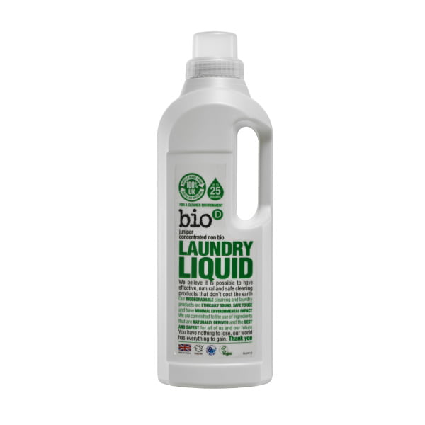 Bio-D Fresh Juniper Laundry Liquid – 1L