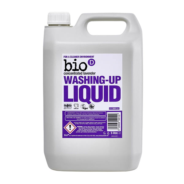 Bio-D Lavender Washing Up Liquid – 5L