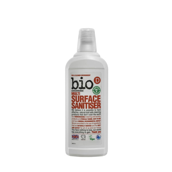 Bio-D Multi Surface Sanitiser – 750ml