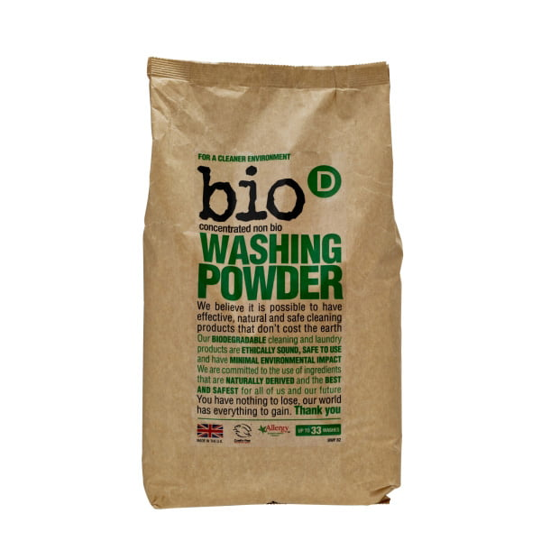 Bio-D Concentrated Washing Powder – 2kg
