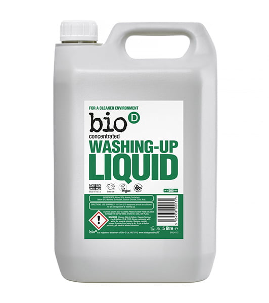 Bio-D Fragrance Free Washing Up Liquid – 5L