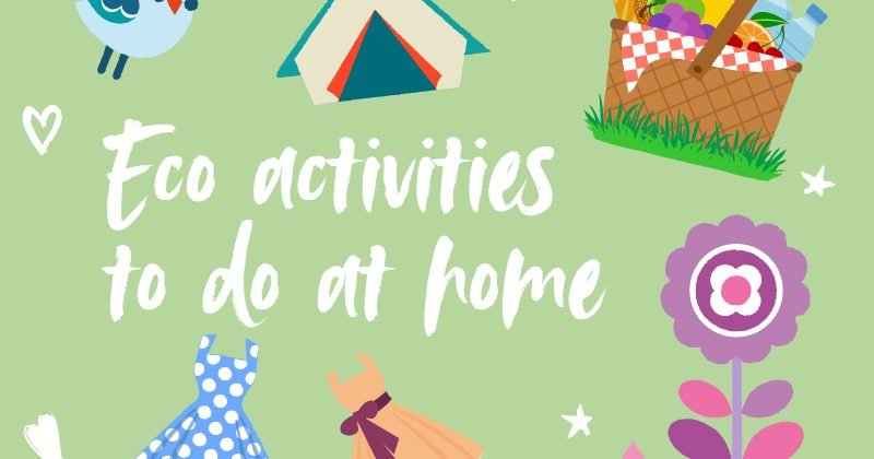 Eco activities to do at home this Easter