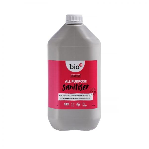 Bio-D All Purpose Sanitiser Bulk Refill – 5L