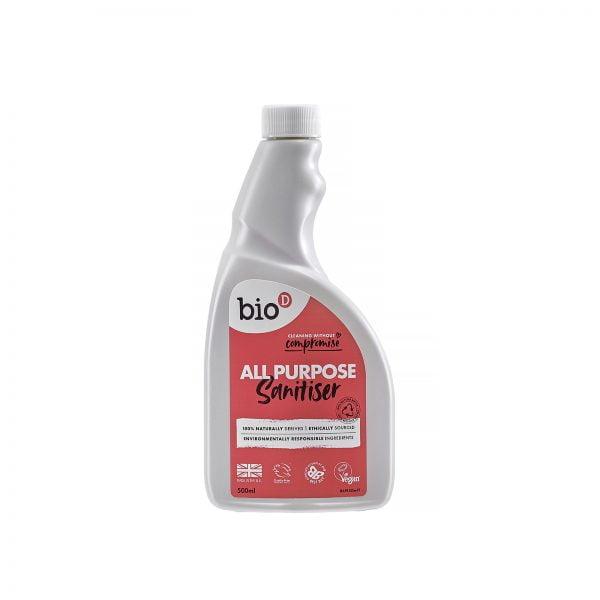 Bio-D All Purpose Sanitiser Spray Refill – 500ml